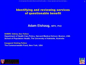Adam_ELSHAUG_ Forum_Apr2013_surmed_web_site