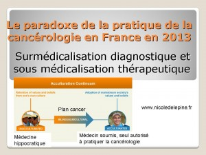 Nicole Delepine N°5 Le paradoxe de la prescription en cancérologie
