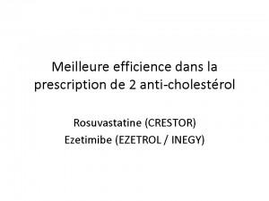Sylvain Duval N° 5 Meilleure efficience dans la prescription de 2 anticholestérols