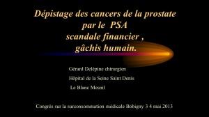 image diapo Delépine Gérard Cancer de la prostate