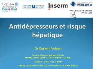 Antidepresseurs et risque hépatique