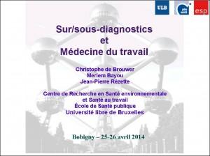 Sur-sous-diagnostic_et_Médecine_du_travail_Ch_De Brouwer