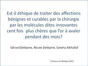 Gérard_DELEPINE_Poster_1-Colloque_2015_maladie bénigne et thérapie ciblées